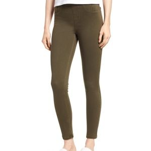 Spanx Green Jeanish Leggings